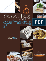 Livret Recettes Cuisin'Store