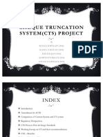 Cheque Truncation Project