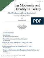 Rethinking Modernity in Turkey