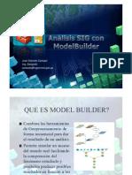Análisis SIG con ModelBuilder