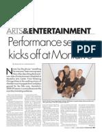 Los Gatos Weekender - Performance Season Kicks Off at Montalvo