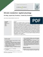 Bilirubin Metabolism Applied Physiology