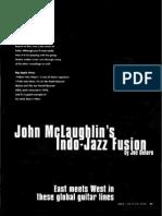 Guitar - John Mclaughlin's Indo - Jazz Fusion