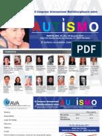 Ava 3er Congreso Sobre Autismo Cartel