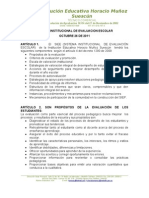 Sistema Institucional de Evaluacion Escolar (Siee)