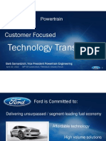 1 Customer Focused Technology Transition BSamardizich Ford DAP Forum April 20 2010