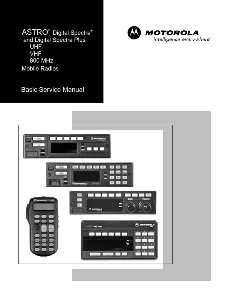 basic service manual - astro spectra plus | copyright | ultra high frequency
