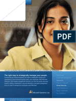 Human Resources and Payroll in Microsoft Dynamics NAV