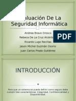 Evaluación De La Seguridad Informática