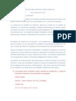 Elaboracin Del Port a Folio de Evidencias