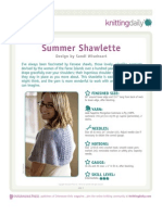 Summer Shawlette A
