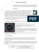 Camera Exposure_ Aperture ISO Shutter Speed
