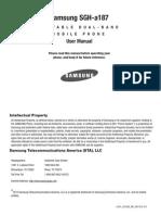 Samsung-ATT A187 User Manual English