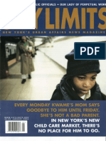 City Limits Magazine, January 2003 Issue