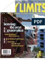 City Limits Magazine, April 2003 Issue