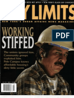 City Limits Magazine, May 2003 Issue