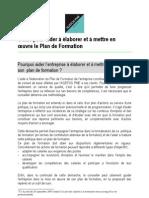 Bon Guide Agefos Plan de Formation