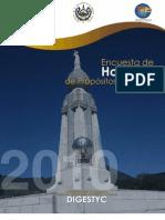 El Salvador_ Encuestas de Hogares 2010