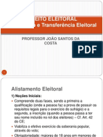 to e Transfer en CIA Eleitoral