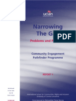 Community Engagement Pathfinder Programme - Problems & Processes Report 1