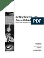 Oracle Calendar Handout