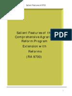 Salient Features of 9700
