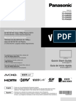 User Manual Panasonic TCP42G25
