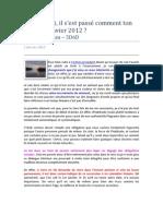 Laurent Dureau - 5D6D - 1 février 2012