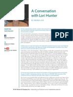 Lori Hunter Interview