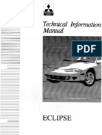 Mitsubishi ECLIPSE 2G Service Manual