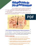 Sensibilidade da pele às diferenças de temperatura