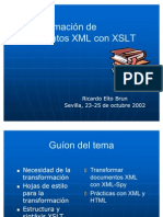 06.Transformación de documentos XML con XSLT