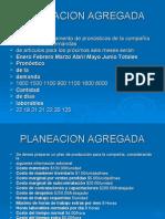 DIAPOSITIVAS PLANEACION AGREGADA