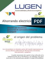 Ahorrando electricidad -Technowise