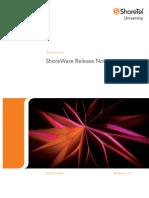 Shoretel 10.2 Release Notes