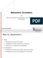 02 Decision Making Under Risk and Uncertainty