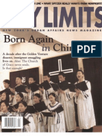 City Limits Magazine, January 2004 Issue