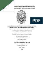 Carlos Quiroz - Protecciones y Curva de Capabilidad de un Turbogenerador