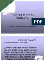 Mini Pilates Para El Cerebro - Jr