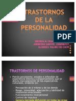 Trastornos de La Personal Id Ad