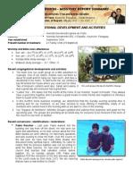Mission Report - Jan 2012