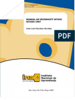 Manual - Microsoft Access 2007
