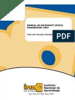 Manual - Microsoft Power Point 2007