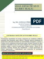 6-Lechadas Asfalticas o Slurry Seals