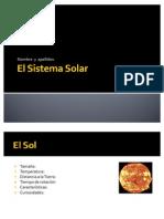 Plantilla Sistema Solar