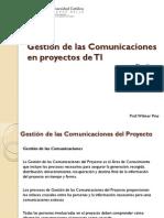 Capitulo Ix Gestin de Las Comunicaciones