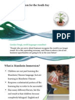 Mandarin Immersion for the South Bay _ Any School District