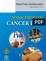 Cpg Management of Cancer Pain