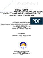 HOTEL RESORT di PANTAI SIUNG [Judul]