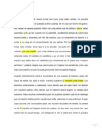 documento en corrección